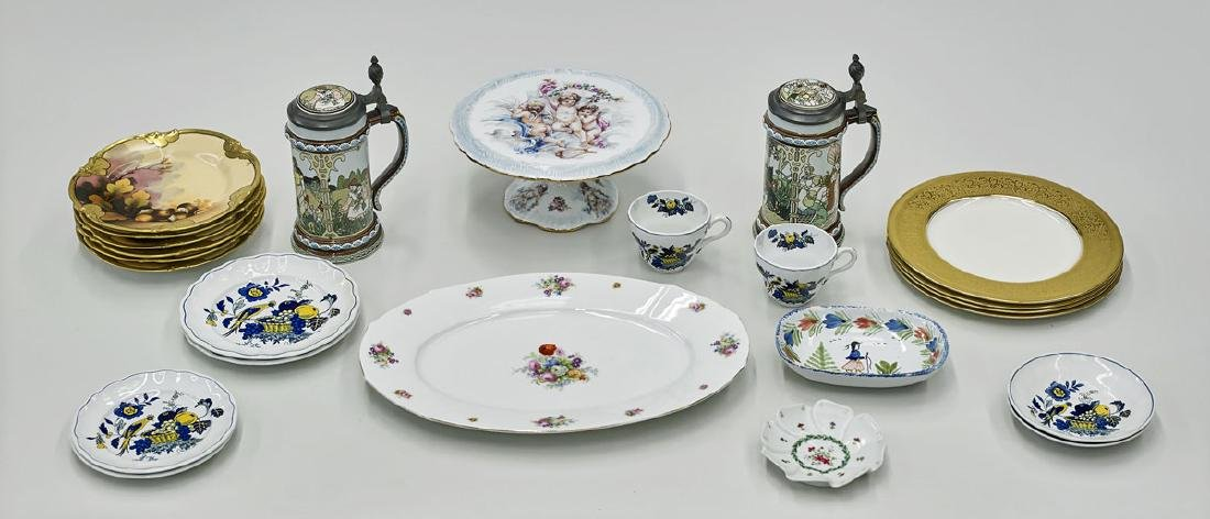 Group of Assorted Porcelain Tableware