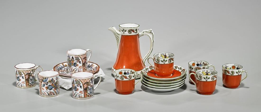 Two Continental Porcelain Sets