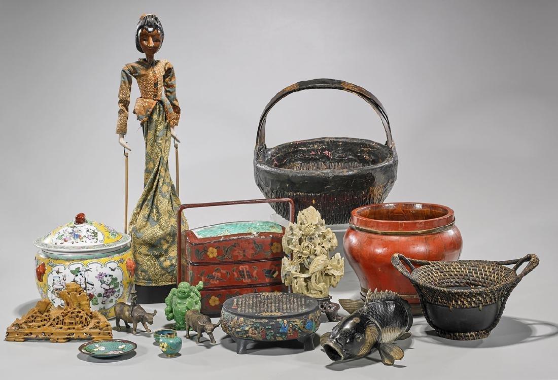 Collection of Sixteen Various Asian Items