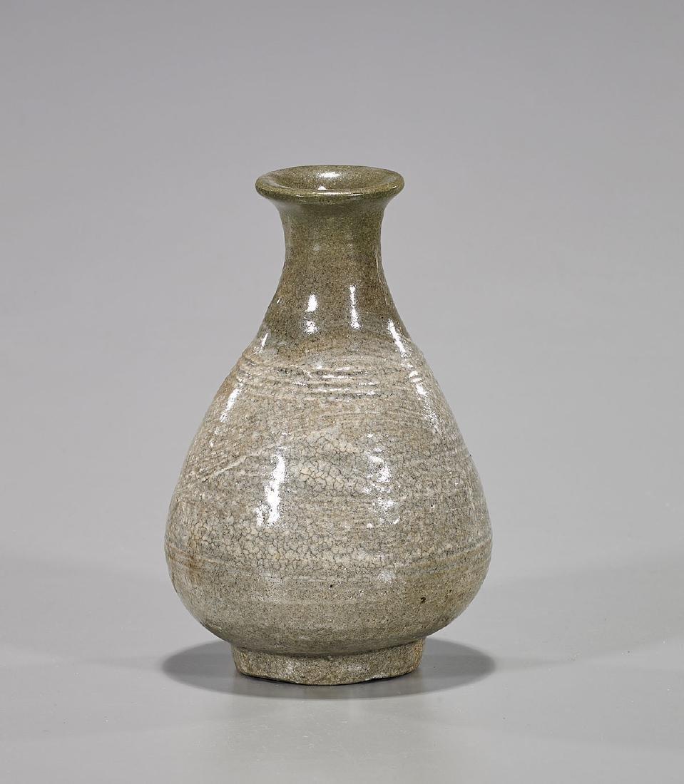Korean Goryeo Dynasty Celadon Vase