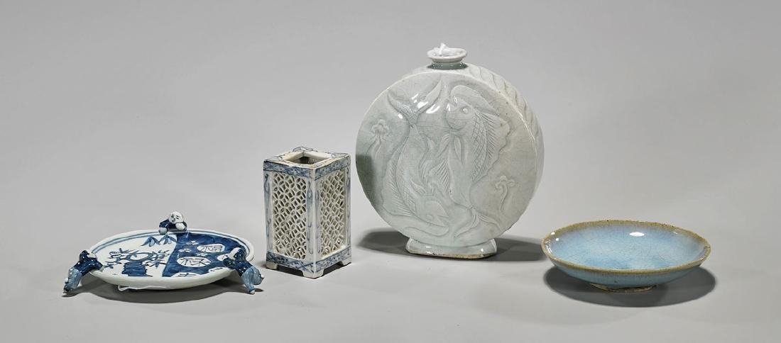 Group of Four Various Chinese Pieces