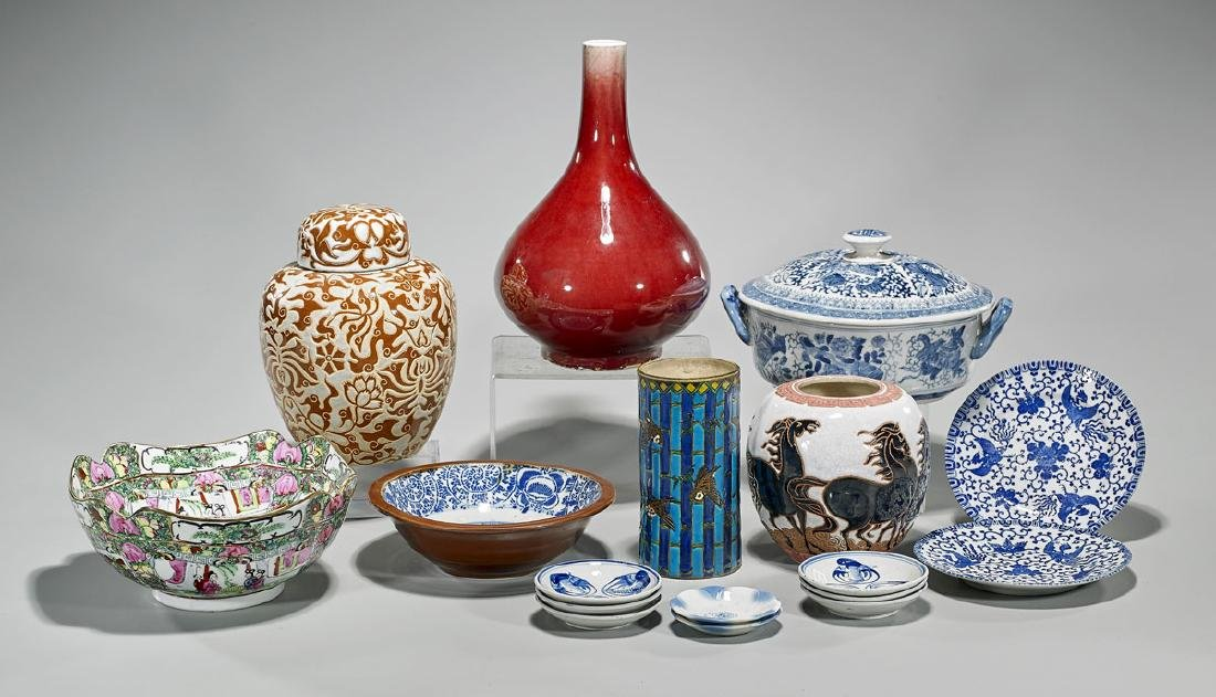 Collection of Various Chinese & Japanese Ceramics