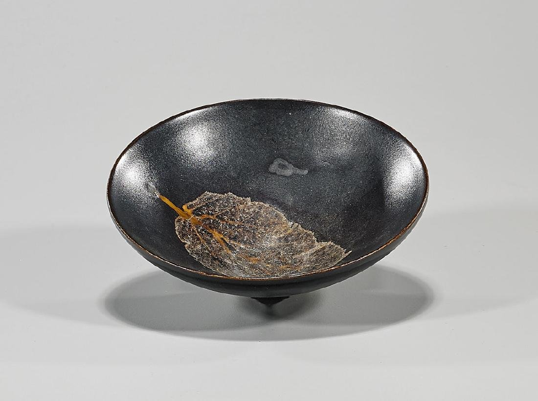 Chinese Song-Style Glazed Tea Bowl