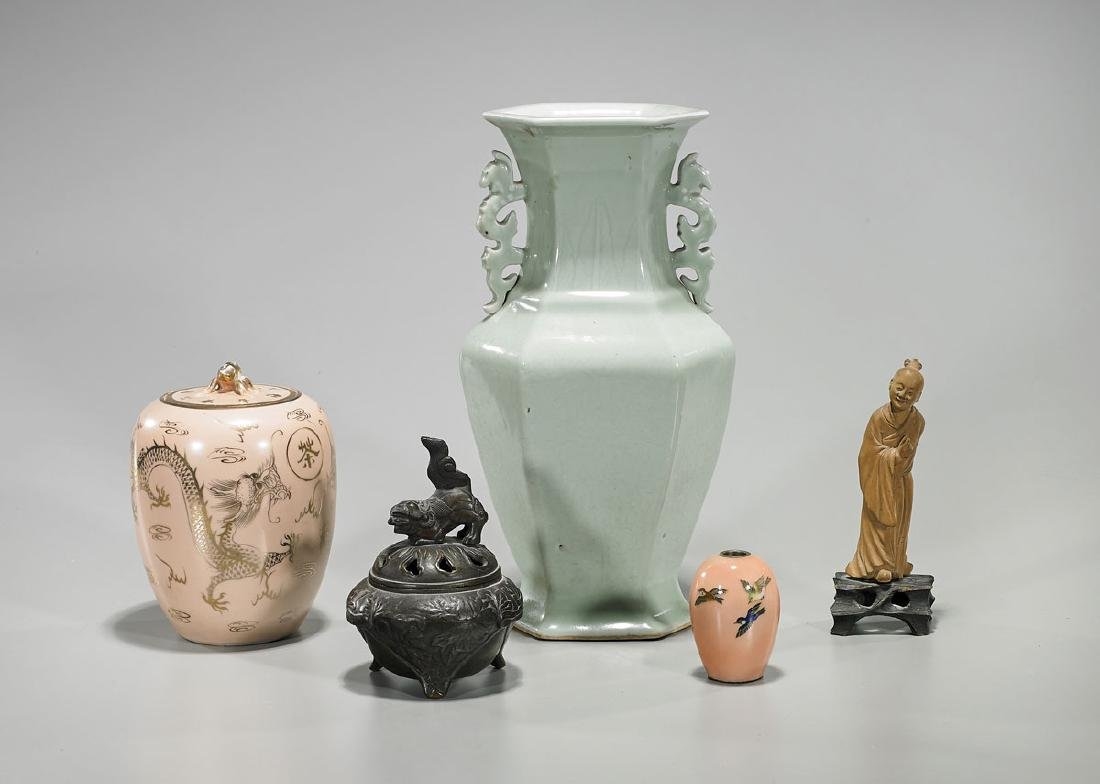 Group of Five Chinese & Japanese Pieces