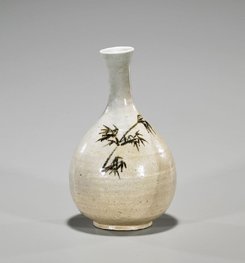 Antique Joseon Dynasty Bottle Vase