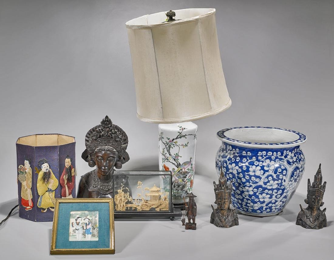 Collection of Asian Pieces