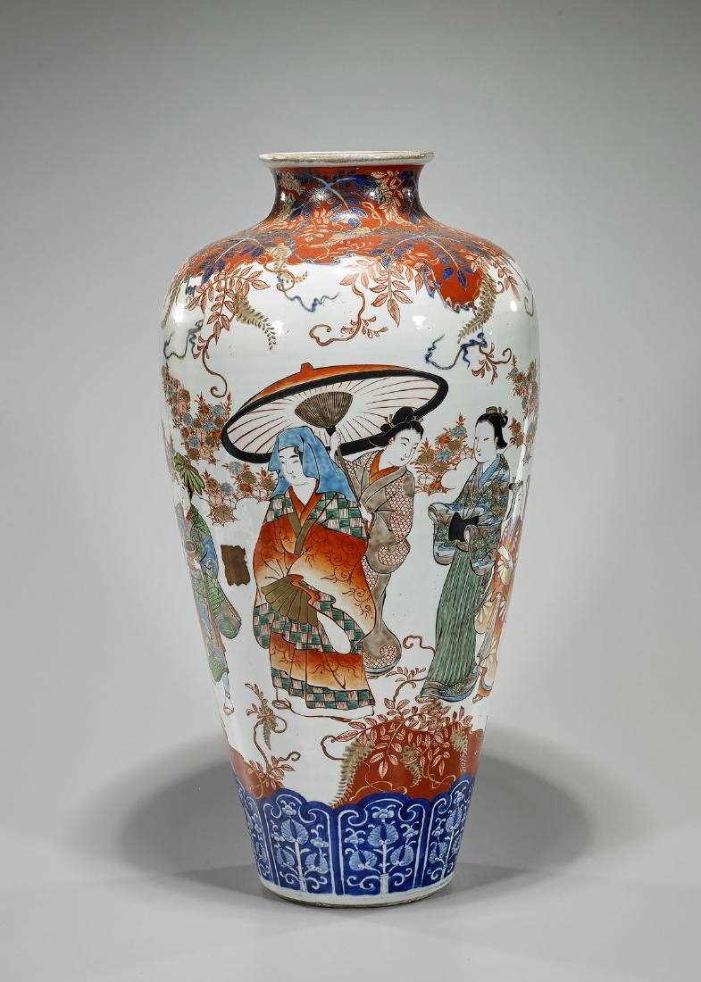 Large Japanese Imari Vase