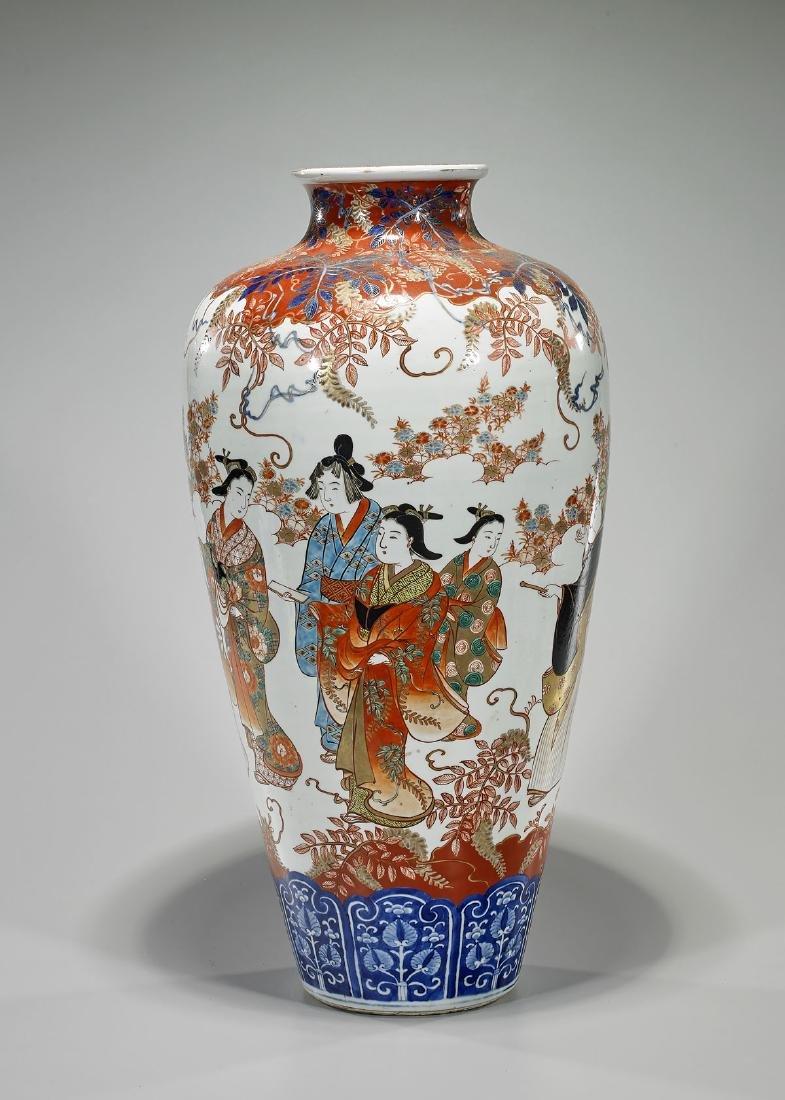 Large Japanese Imari Vase - 2