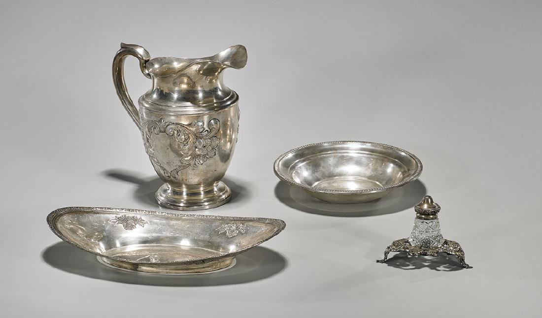 Four Various Sterling Silver Pieces