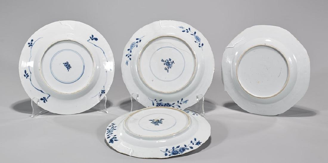 Group of Four Antique Chinese Export Porcelain Plates - 2