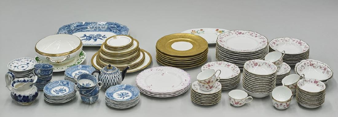 Large Collection of Porcelain Tableware