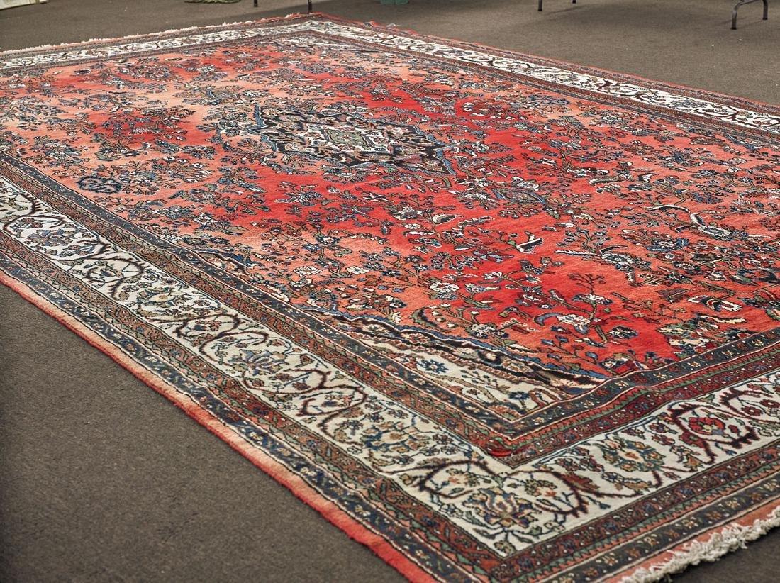 Persian Hamedan Wool Rug