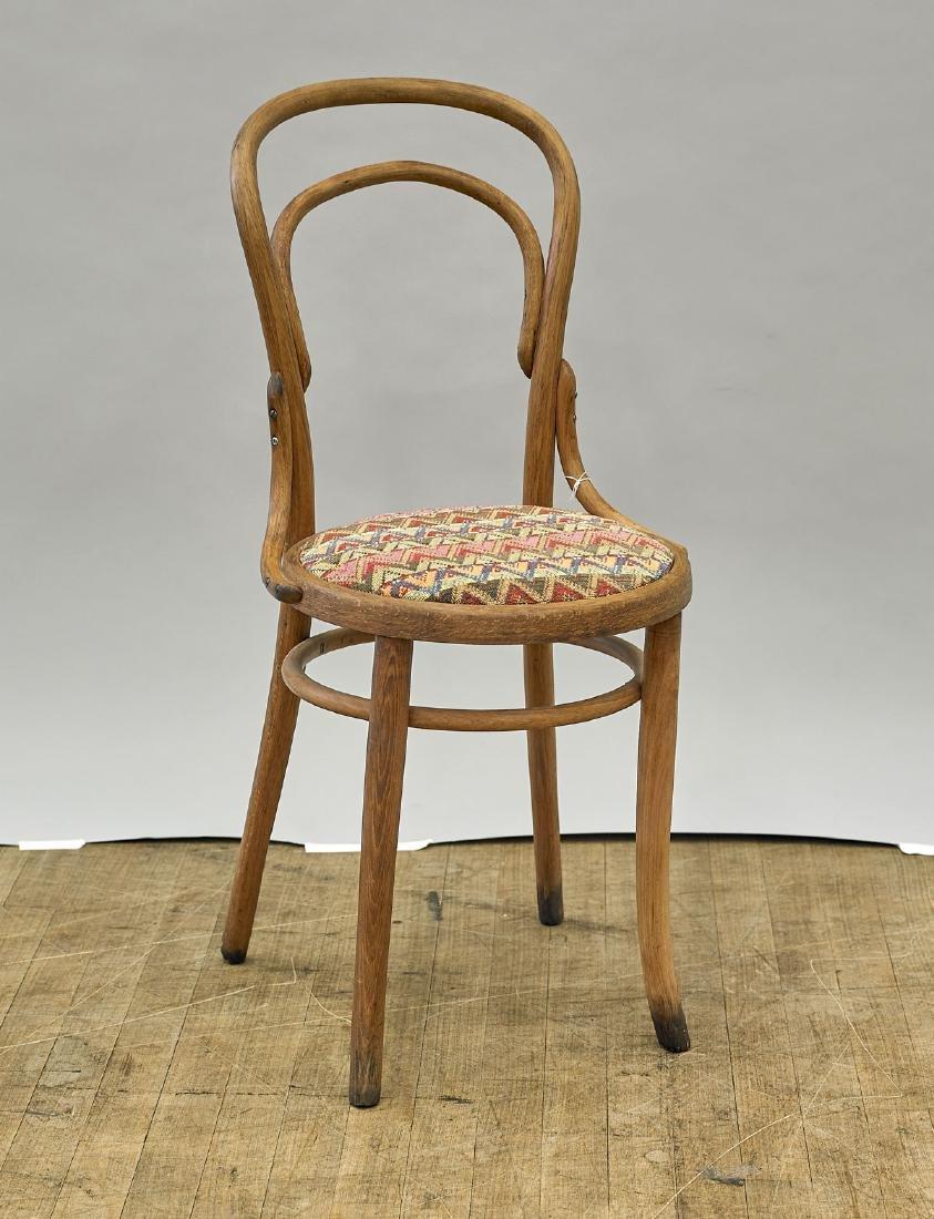 Upholstered Wood Chair By D. Matthews & Son Ltd.