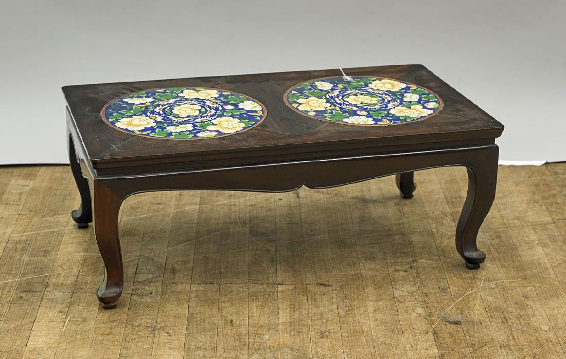 Old Chinese Low Hardwood Table