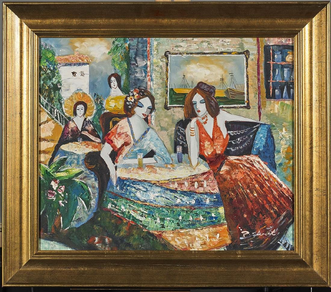 Group of Four Paintings