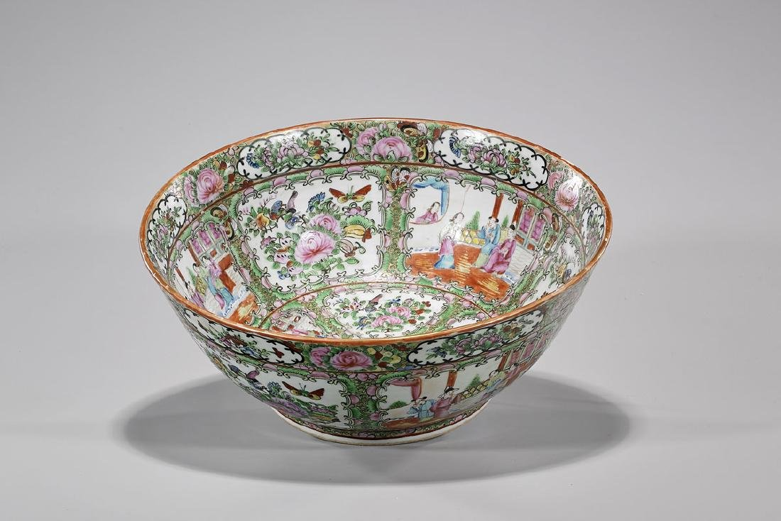 Chinese Rose Medallion Porcelain Bowl