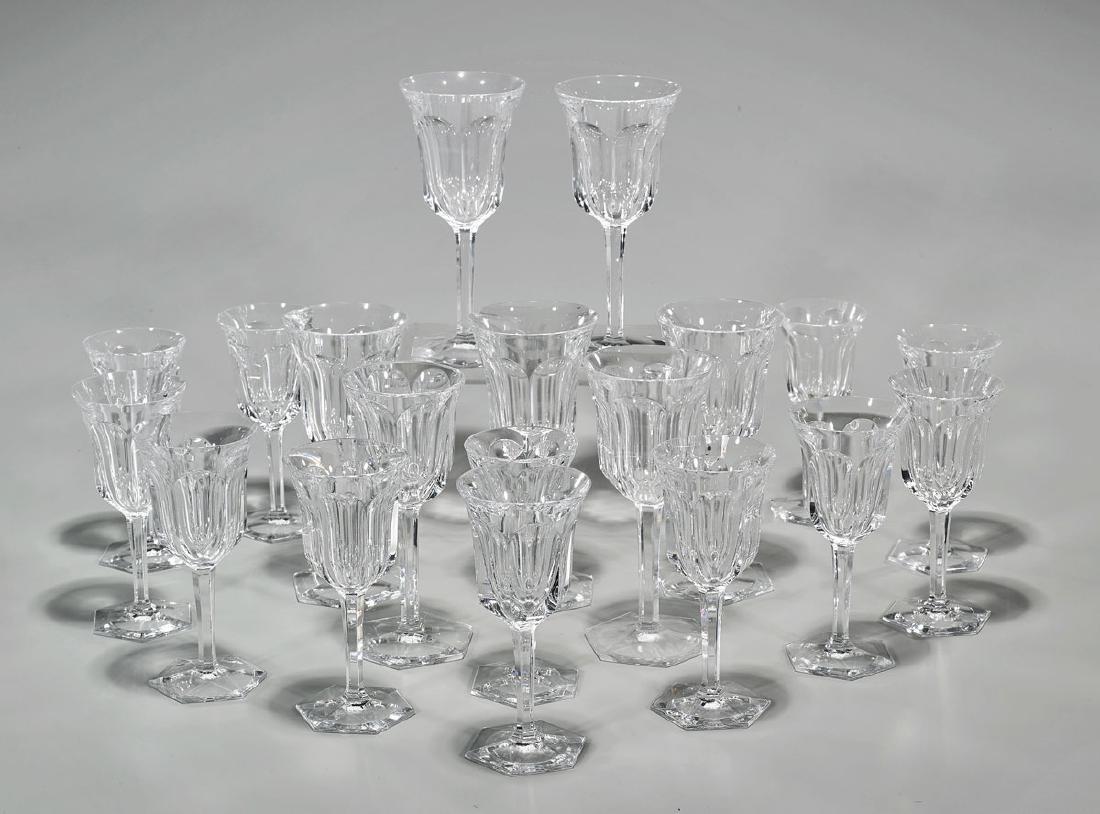 Set of Baccarat Crystal Stemware