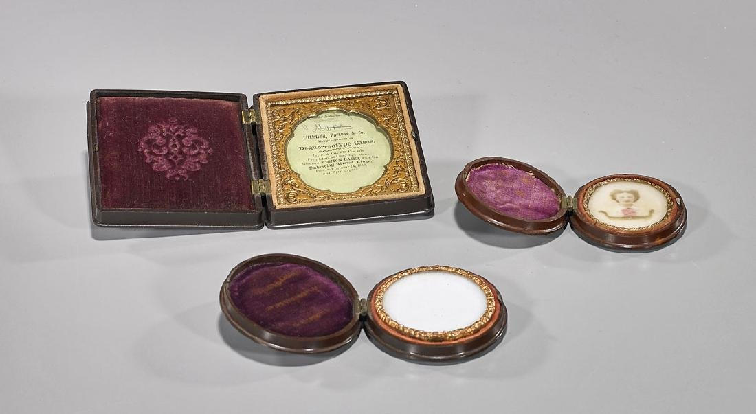 Group of Three Antique Littlefield, Parsons & Co.
