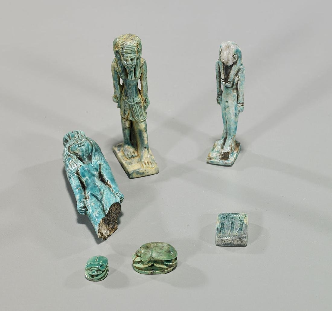 Group of Six Egyptian Pieces