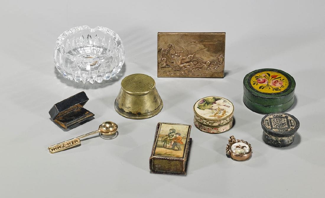 Group of Ten Various Old & Antique Collectibles