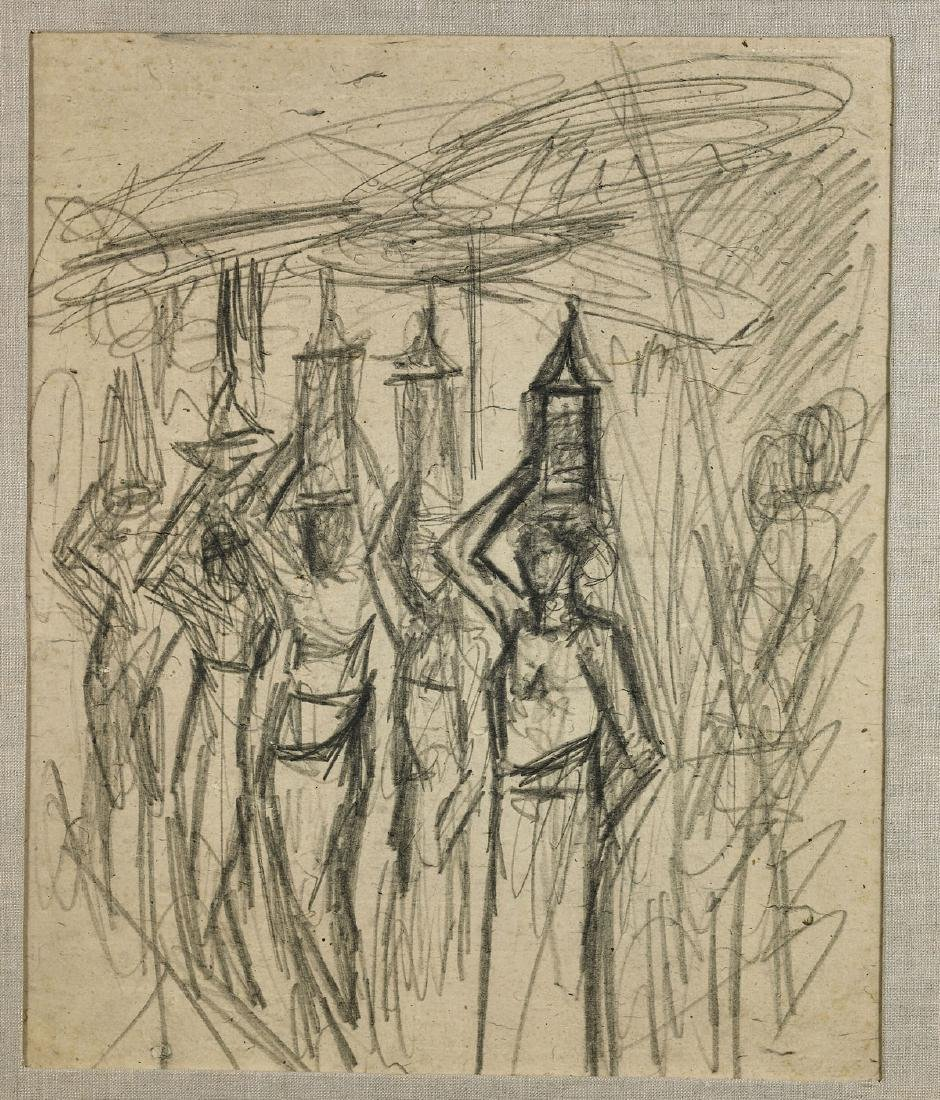 Group of Five Drawings By Maurice Sterne