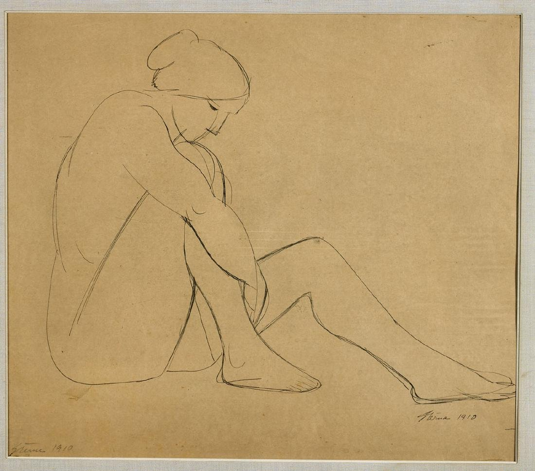 Group of Five Drawings By Maurice Sterne - 3