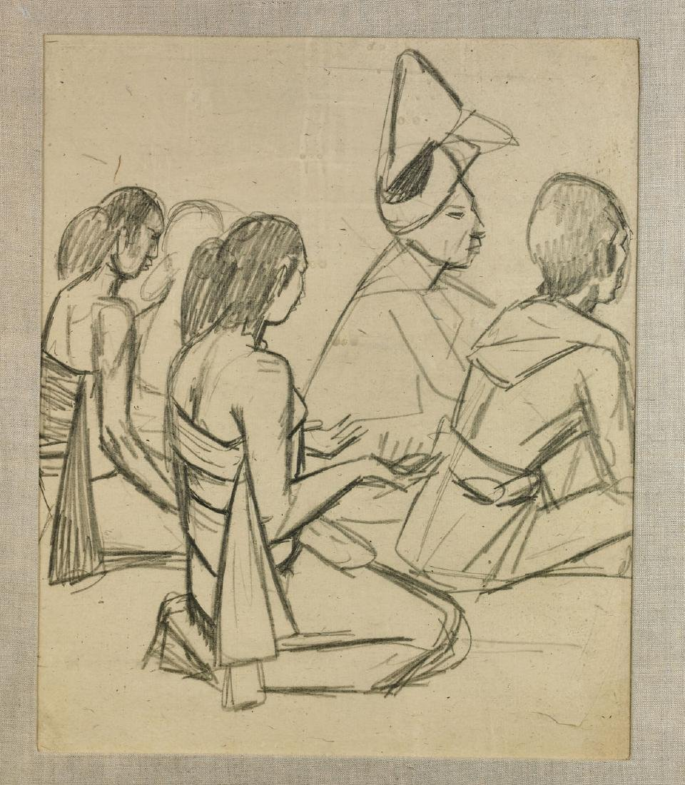 Group of Five Drawings By Maurice Sterne - 4