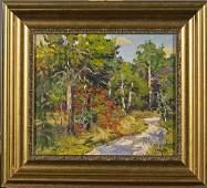 Three Oil Landscape Paintings