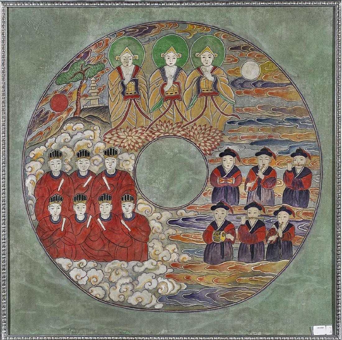 Korean Painting on Silk