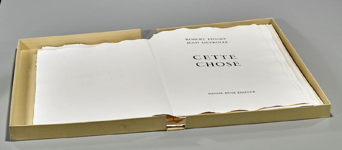 Portfolio & Engravings By Robert Pinget & Jean Deyrolle