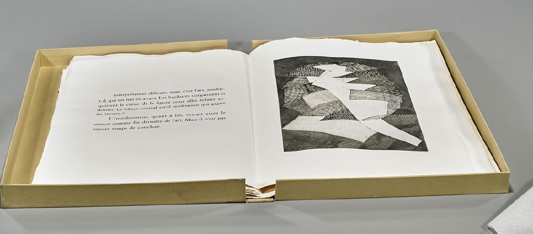 Portfolio & Engravings By Robert Pinget & Jean Deyrolle - 2