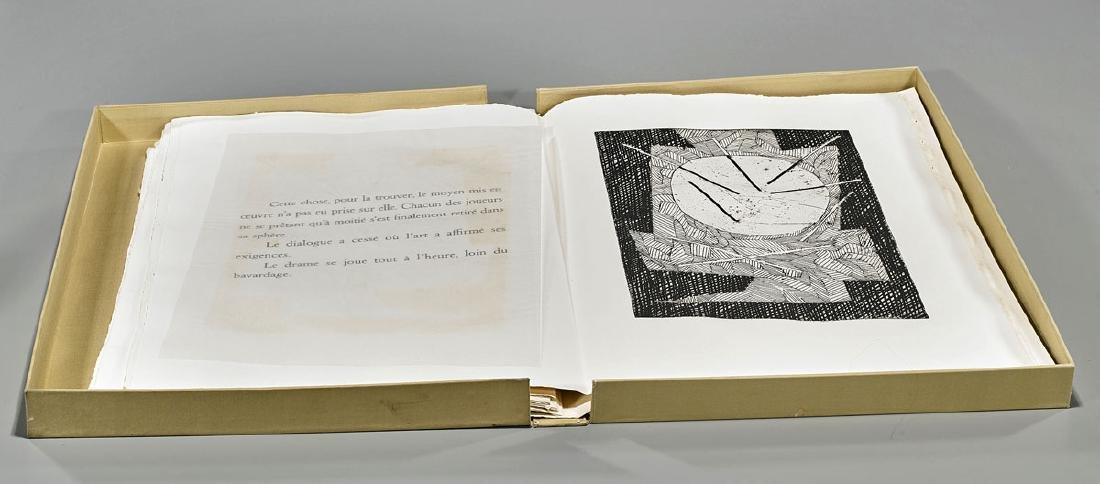 Portfolio & Engravings By Robert Pinget & Jean Deyrolle - 3