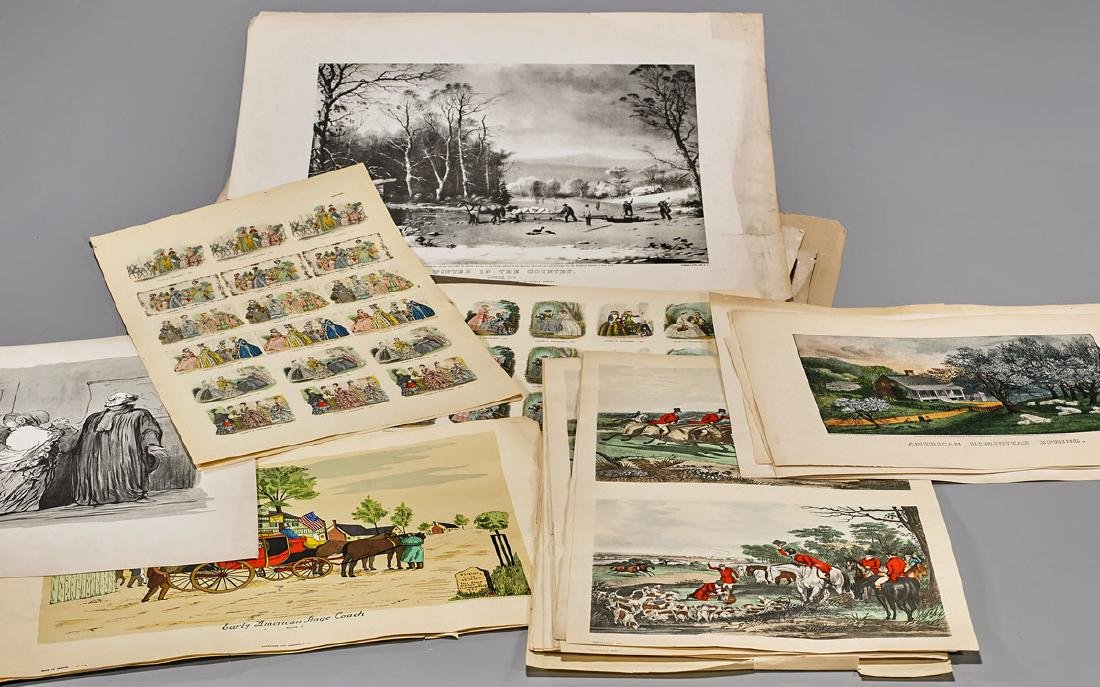 Collection of Old Engravings & Lithographs