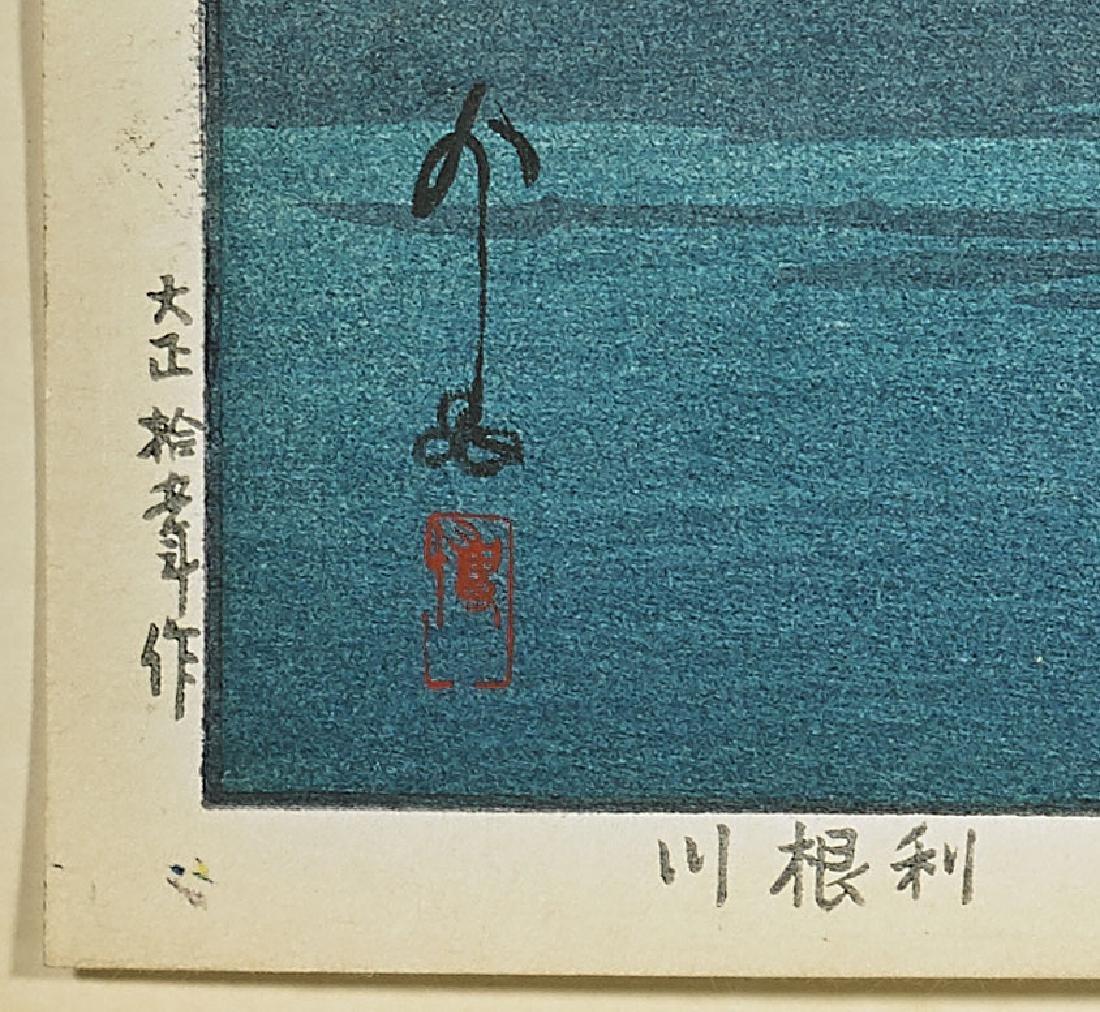 FOUR WOODBLOCK PRINTS AFTER HIROSHI YOSHIDA - 2