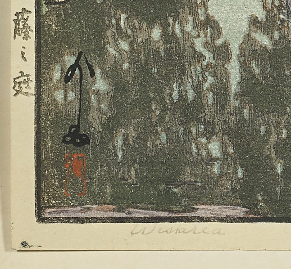 FOUR WOODBLOCK PRINTS AFTER HIROSHI YOSHIDA - 6