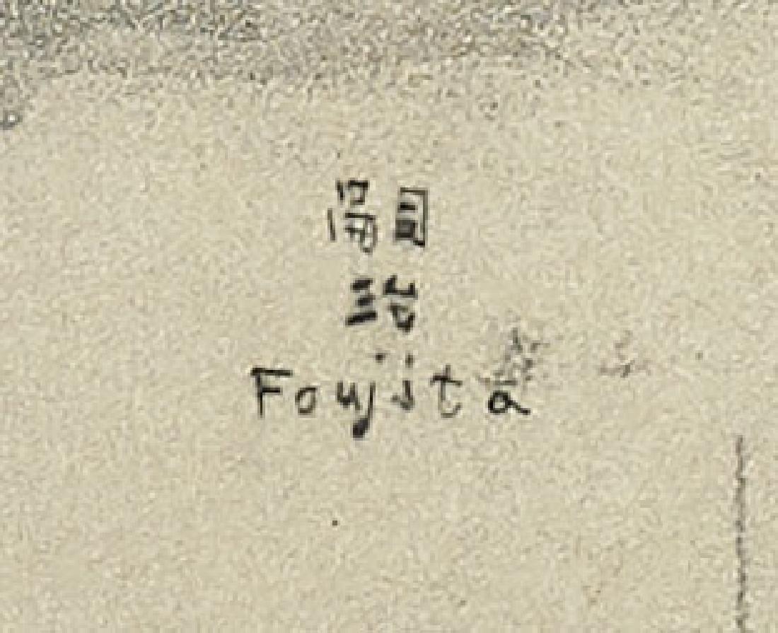 ETCHING BY TSUGUHARU FOUJITA - 2