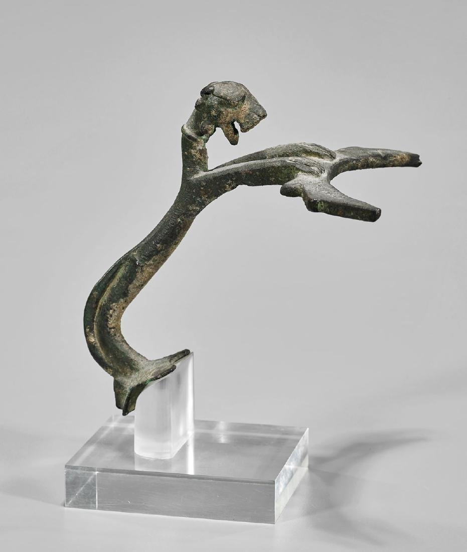 PARTHIAN BRONZE 'PANTHER' HANDLE - 2