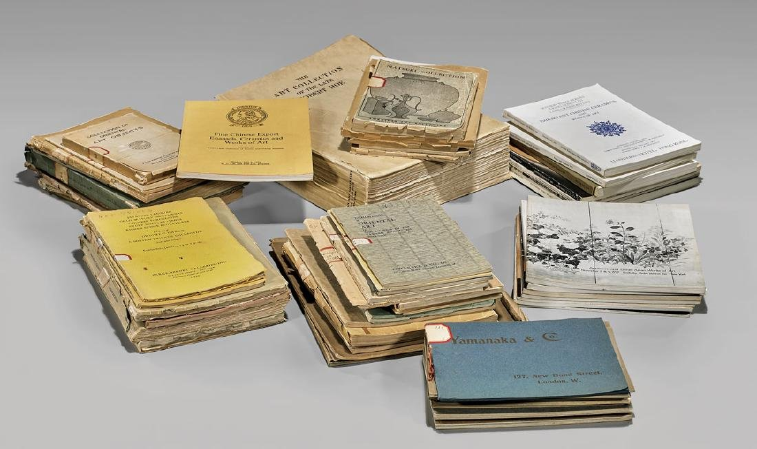 COLLECTION OF AUCTION & GALLERY CATALOGUES