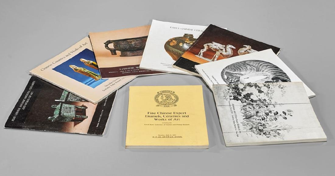 COLLECTION OF AUCTION & GALLERY CATALOGUES - 4