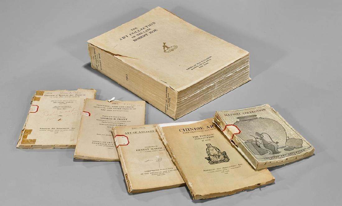 COLLECTION OF AUCTION & GALLERY CATALOGUES - 7