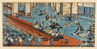 Group of Japanese Woodblock Prints