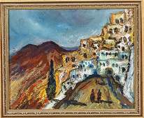 Oil Painting Attributed To Yitzhak Frenkel