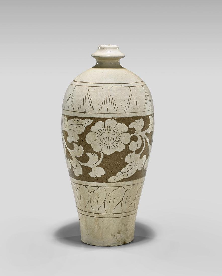SONG DYNASTY CIZHOU MEIPING VASE