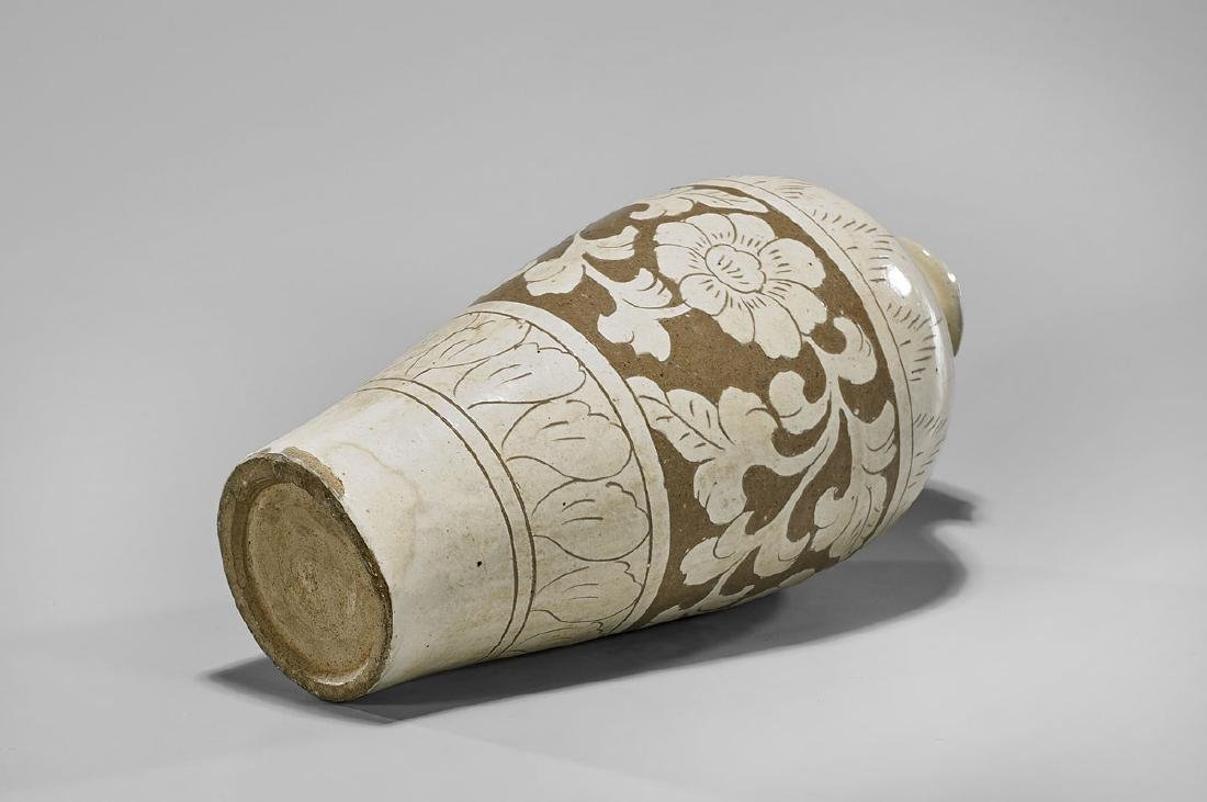 SONG DYNASTY CIZHOU MEIPING VASE - 2