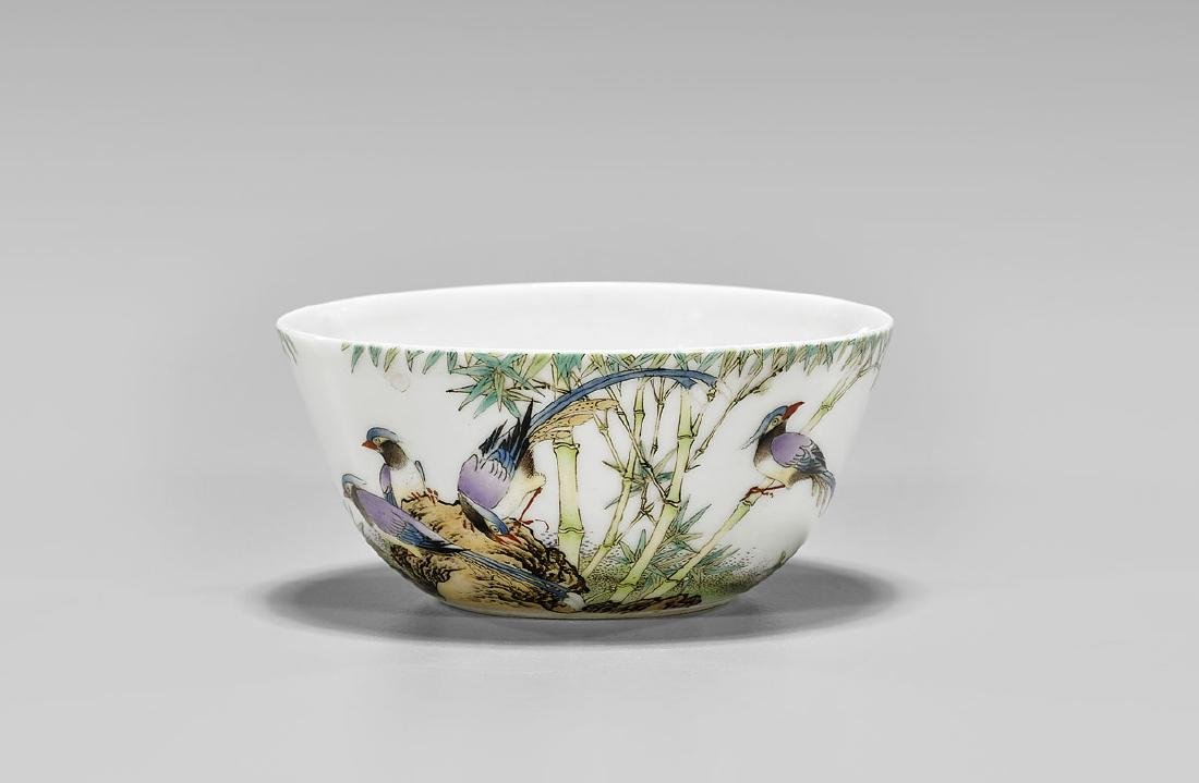 CHINESE ENAMELED PORCELAIN CUP