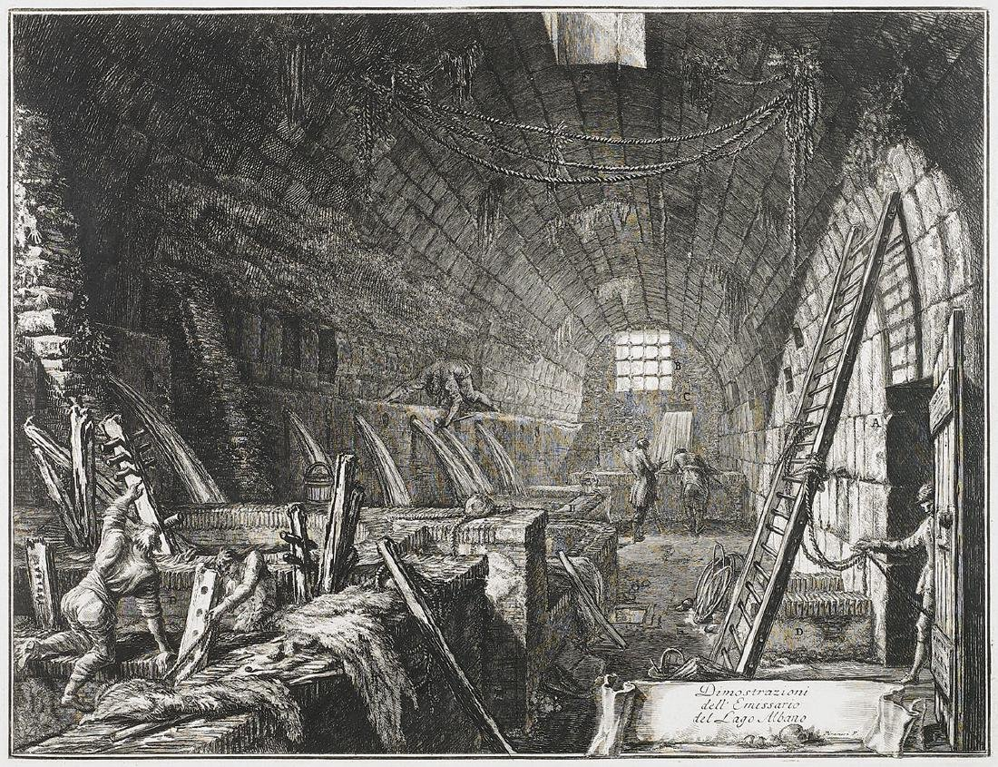 ETCHING BY GIOVANNI BATTISTA PIRANESI