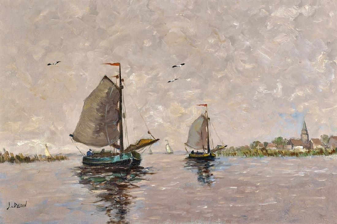 OIL PAINTING BY JAN VAN DELDEN