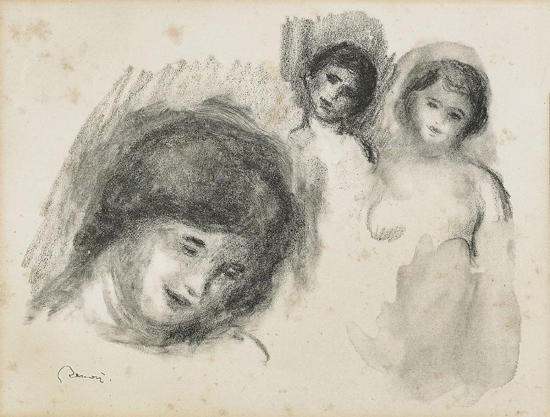 LITHOGRAPH BY PIERRE-AUGUSTE RENOIR