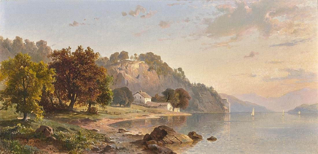 OIL PAINTING ATTRIBUTED TO HERMANN FUECHSEL