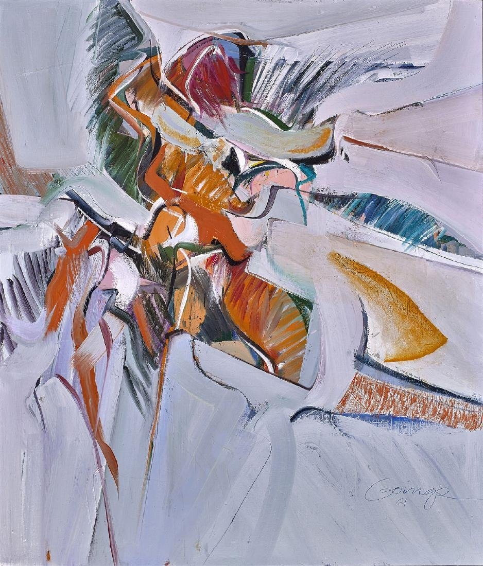 PAINTING BY RALPH GOINGS: Rush of Wings